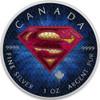 SUPERMAN SUIT - 1 oz Pure Silver Coin Color  2016 Canada
