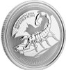 Deathstalker SCORPION 1 oz Silver Proof Like Coin Republic of Chad 2017