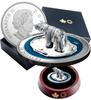 POLAR BEAR Soapstone Sculpture 5 OZ $50 Silver Proof Coin 2018 Canada