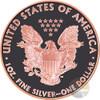 ADMIRE Walking Liberty Atlas of Meteorites 1 Oz Silver Coin US 2015