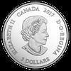 Zodiac $3 Silver Proof two Swarovski Crystals 2017 Canada