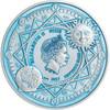 Celestial Bodies 2 Oz Silver Coin 5$ Niue 2017 observe