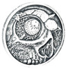 NIGHTMARES of the FALLS 1 oz Silver Antique finish round with Serial Number
