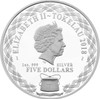 BABY PRAM 1 oz Silver Coin 2018 Tokelau