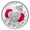 CELEBRATION OF LOVE – $3 1/4 oz Fine Silver Coin Canada 2018