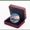 POLAR BEAR Glow Northern Lights 2 Oz Silver Coin 30$ Canada 2018