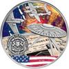 BATTLE OF LOS ANGELES UFO 1 Oz Silver Coin 1000 Francs Burkina Faso 2017