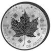 """MAPLE LEAF """"Moon Phases"""" 4 Seasons  SILVER COINS SET CANADA 2018"""