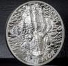 ALLIGATOR Bitemarks HIGH RELIEF 1 Oz Silver Coin 5$ Palau 2018