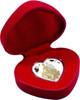 Bride & Groom 2018 Heart Shaped Silver Tokelau Coins
