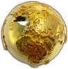 GOLDEN DIAMOND GLOBE First 3D 2 Oz Silver Coin 2$ Niue 2017