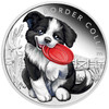 Border Collie 1/2 oz Silver Proof 2018 Australia