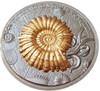 AMMONOIDEA Ammonite Evolution of Earth 2 Oz Silver Coin 2$ Niue 2018