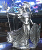Britannia – 3D  STATUE – Silver with Serial Number
