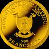 AVE MARIA - Domenico Beccafumi Silver Coin 500 Francs Cameroon 2018