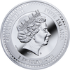 D Gustav Klimt Golden Five Silver Coin 1$ Niue 2018