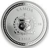Seahorse  1 oz  .999  Silver Prooflike Coin Samoa 2018