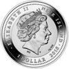 DEATH OF JOHANNES GUTENBERG 550th Anniversary Silver Coin 1$ Niue 2018