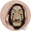 SALVATORE Dali Money Heist 1 Oz Silver Coin 5$ Cook Islands 2018