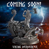 The Viking Berserker - Solid Silver 3D STATUE