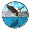 BALD EAGLE REFLECTIONS – GLOW TECHNOLOGY 1 oz Silver Coin 2019