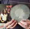 AC/DC  HIGHWAY TO HELL  in  Silver Note  in 45  Vinyl  record  Cook Islands 2018