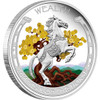 Tuvalu 2014 Year of the Horse -2 x 1oz Silver Coin Set