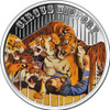 The Circus History - 4 coins set 5C $1 Fiji 2013