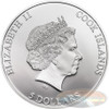 ANDERS CELSIUS 2014 Cook 5$ 1 Oz Ø 50 mm Silver  Coin w/Thermometer
