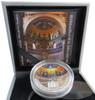 Giovanni in Laterano Mosaic CONVEX Silver $5 Cook Islands 2014