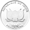 COYOTE 1000 Francs Niger 2013 Silver Proof