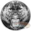 The Black Panther - Rare Wildlife 2 oz .999 Silver 2016 Tanzania