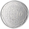 10 Euro Rooster Coin France 2014