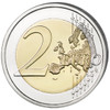 2 Euro Halloween Colored Coin 2016