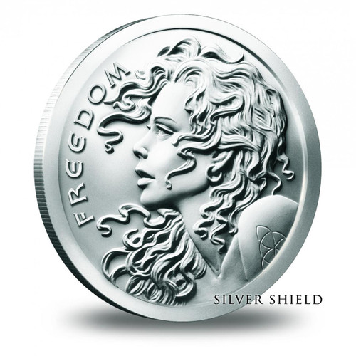 2016 Silver Shield Freedom Girl 1 oz Silver BU