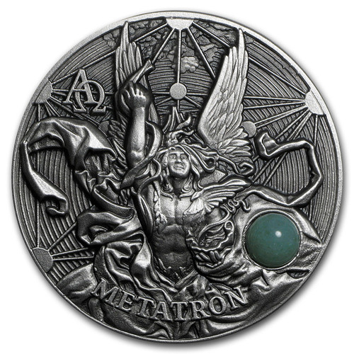 METATRON The Choir of Angels 2 Oz Silver Coin 5$ Niue 2016