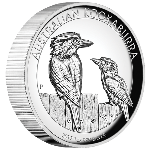 KOOKABURRA - HIGH RELIEF 1 oz Pure Silver Proof Coin 2017