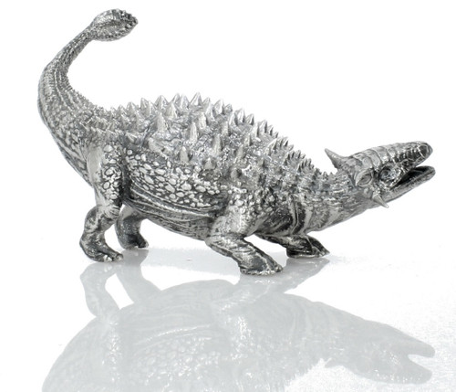 Ankylosaurus – 3D STATUE – 8 oz Silver 3D STATUE - SERIAL NUMBER