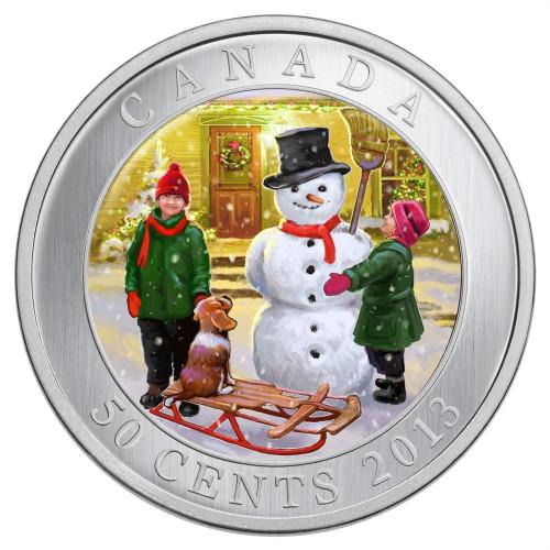 Lenticular 3D Snowman - Canada 2013