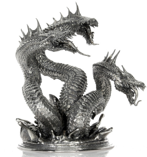 Hydra - Terror of the Seas – 3D STATUE –8 oz Silver 3D STATUE
