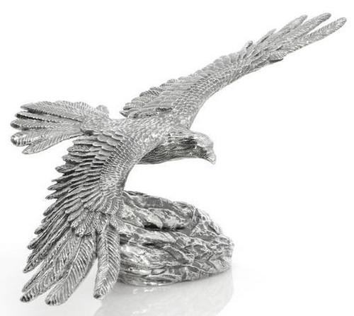 The Soaring Eagle – 3D STATUE –8 oz Silver 3D STATUE