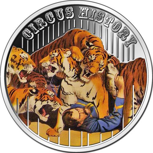 Circus History - The Tiger Timer Fiji 2013
