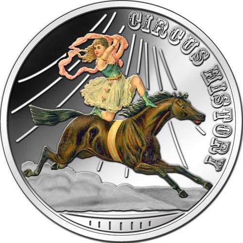 Circus History - The Horsedancer 2013