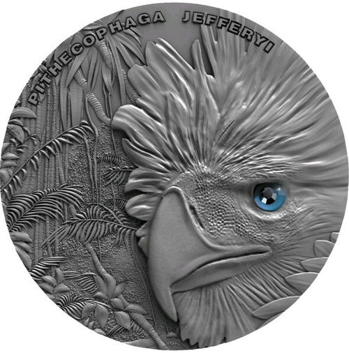 PHILIPPINE EAGLE Sky Hunters 1 Oz Silver Coin 2$ Niue 2018