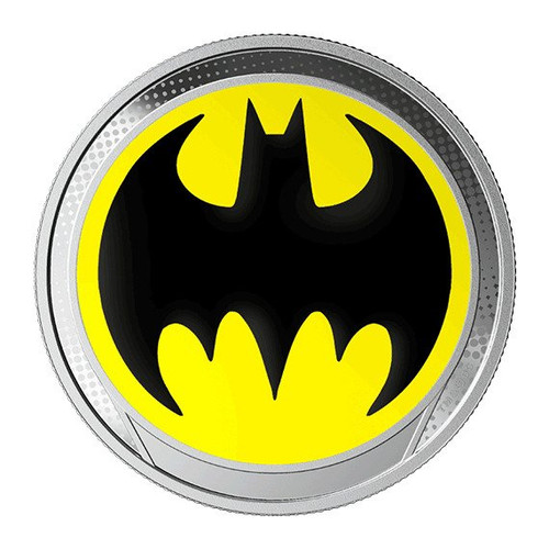 THE BAT SIGNAL – GLOW IN THE DARK – Fine Silver Coin 2019 BARBADOS
