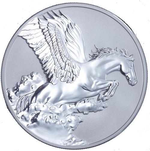 Tokelau 2014 1 oz Proof Silver $5 SPAWNS PEGASUS Coin