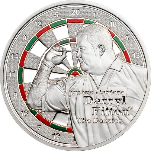 Darters-Darryl Fitton $1 Color Proof Cook Islands 2014