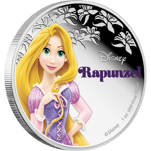 Disney Princess Rapzunel - 2016 Niue 1 oz Silver Coin