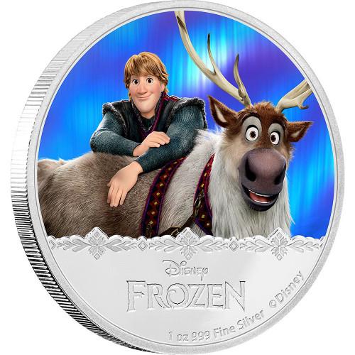 KRISTOFF & SVEN - Disney Frozen Series- 2016 Niue 1 oz Silver Coin