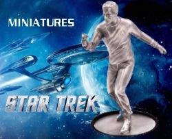 STAR TREK - CAPTAIN JAMES T. KIRK 5.29 OZ SILVER MINIATURE NIUE 2018